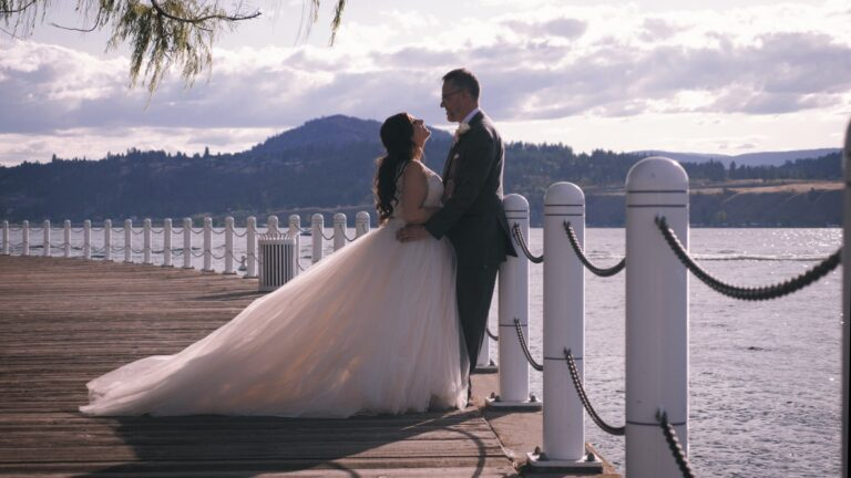 Kelowna Boardwalk Bride